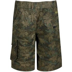 Regatta Shorewalk Pantalones cortos Niños, grape leaf camo print